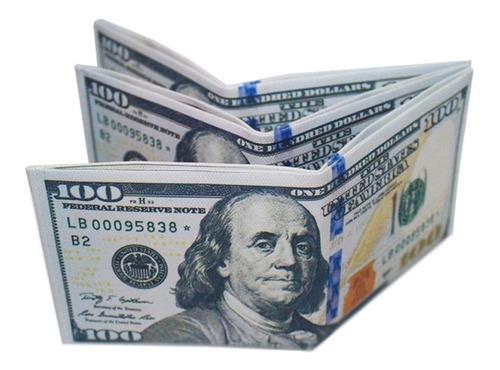 Billetera Diseño 100 Dolares X 5 Unidades