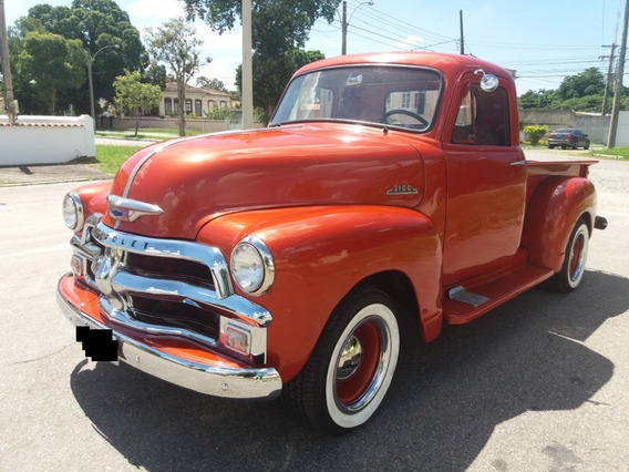 Chevrolet Pick Up 3100 Boca De Bagre Original 1954 Doc Ok