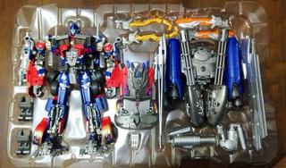 Transformers Optimus Prime Aps-01u Leader Class Takara Tomy