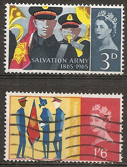 Inglaterra Reino Unido Año 1965 Serie Yvert 401/2