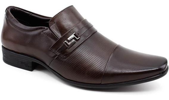 Sapato Masculino Jotape 13127 Couro Cor Marrom