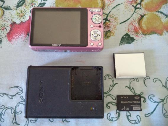 Camera Fotografica Sony Dsc-s950 Precisa De Reparo
