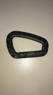 Clip Mosqueton De Plastico Negro