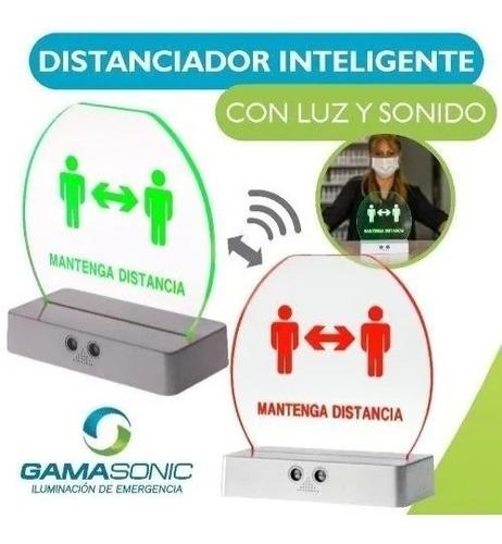 Imagen 1 de 5 de Led Distanciador Inteligente Con Luz Sonido Gamasinic Ionlux