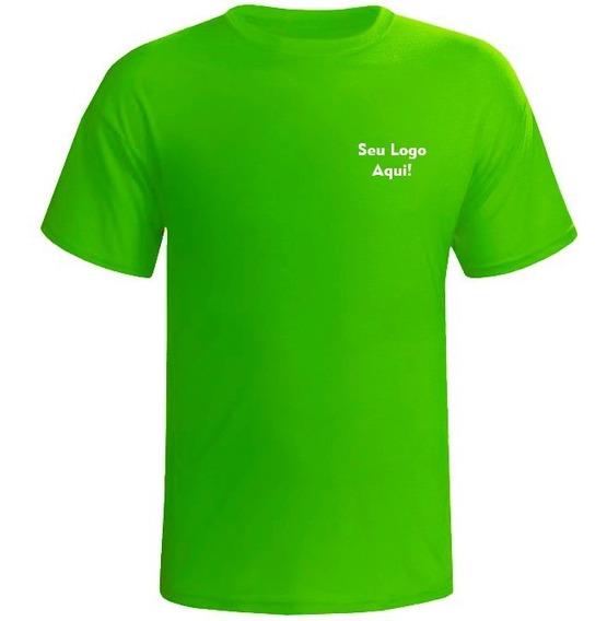 Kit 4 Camisetas Básicas Com Seu Logo Tipo