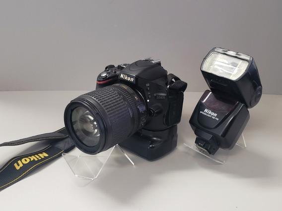 Câmera Fotográfica Nikon D5100 + Lente 18-105mm + Kit
