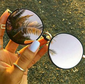 a32e6cae8 Oculos De Sol Round Espelhado Feminino Original Barato - Óculos no ...
