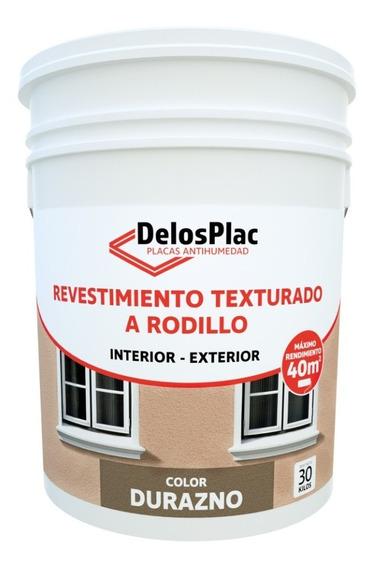 Revestimien Texturado Rodillo Durazno 30kg (tipo Tarquini)