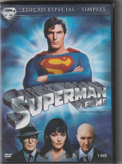 Dvd Superman - O Filme - 1978 ( Dublado E Lacrado)