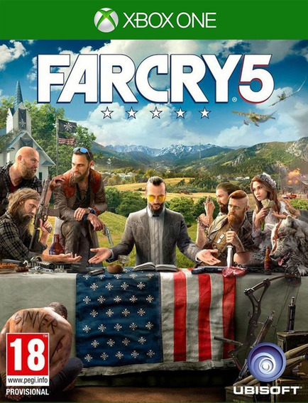 Far Cry 5 Xbox One - 25 Dígitos (envio Flash)