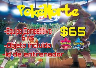 Equipo Shiny Competitivo Pokemon Espada Y Escudo