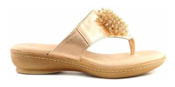 Sandalia Ojota Mujer Cuero Briganti Zapato - Mcoj03771