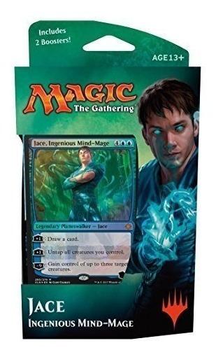 Magic The Gathering: Mazo De Planeswalker Ixalan - Jace - In