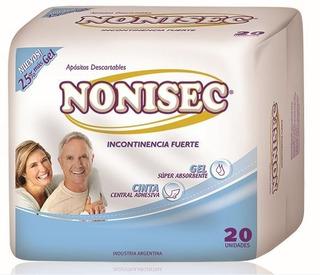 Aposito Nonisec Incontinencia Fuerte X 20 Unidades