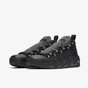 Tênis Nike Air More Money - Black Metallic Silver