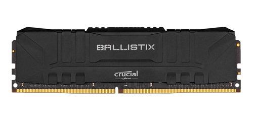 Memória Crucial Ballistix 8gb 2400mhz Ddr4 Preta