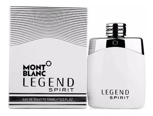 Mont Blanc Legend Spirit 100ml Para Ho - mL a $1850