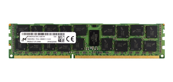 Memoria Servidor Dell Hp Ibm 16gb Ecc Reg - Pc3l-12800r Nova