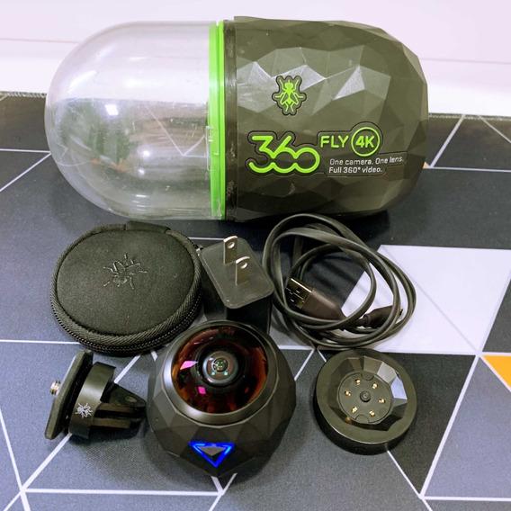 Câmera 360fly 4k   Panoramica   Action Cam   64gb   Usado