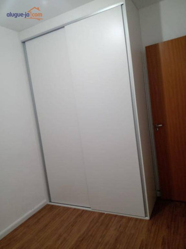 Espaço Gourmet. Garage Band. Apartamento 2 Dormitórios Para Alugar, 47 M² Por R$ 1.050/mês. Venda 270 Mil - Jd Das Indústrias - São José Dos Campos/sp - Ap8956