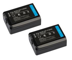 2 Baterias Para Sony Alpha A6500 A6400 A6300