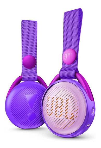 Caixa De Som Bluetooth Jbl Jr Pop Lilas Ipx7