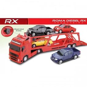 Caminhão Cegonha Rx- Vermelho