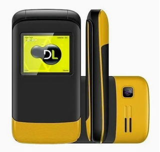 Celular Flip Di Yc 230 Sem Avarias,com Garantia Até 03/2021.