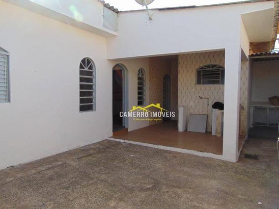 Casa Com 1 Dormitório Para Alugar, 60 M² Por R$ 650,00/mês - Jardim Pântano - Santa Bárbara D