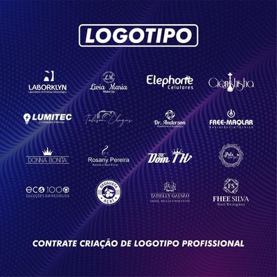 Logo Logomarca Logotipo Completo Criar Arte Profissional