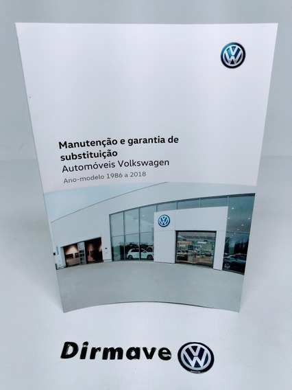 Livreto Manutenção E Garantia De Substituição Volkswagem