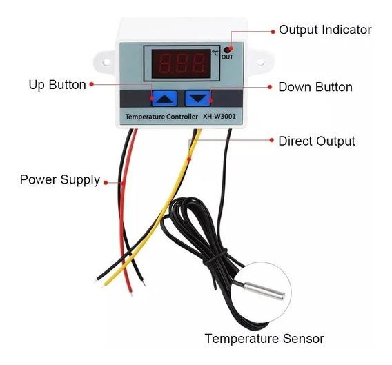 Termostato Digital Controlador Temperatura Geladeira Freezer