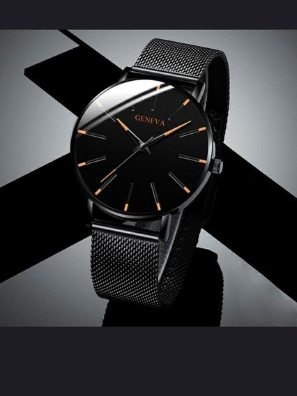 Relógio Geneva De Primeira Linha Original De Fabrica.