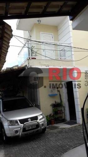 Casa Em Condomínio-à Venda-jardim Sulacap-rio De Janeiro - Vvcn20050
