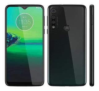 Motorola Moto G8 Play Preto Onix 32gb, Tela Max Vision Hd+