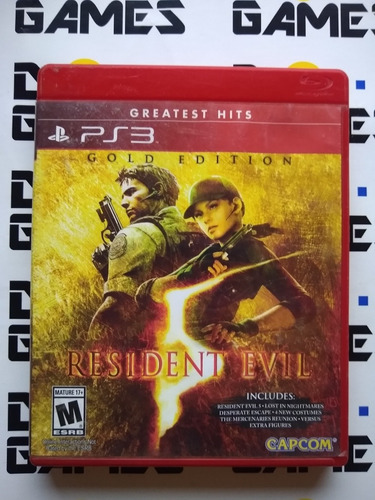 Resident Evil 5 Gold Edition - Físico - Ps3