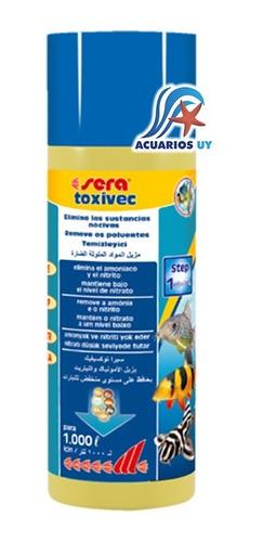 Anti-amoníaco Para Acuario. Sera Toxivec 500ml