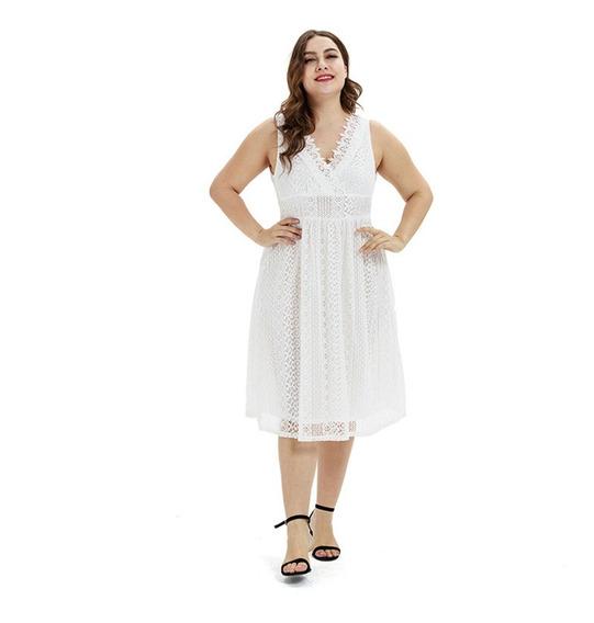 Vestido Cortos Talles Grandes Importado Fiesta Mujer