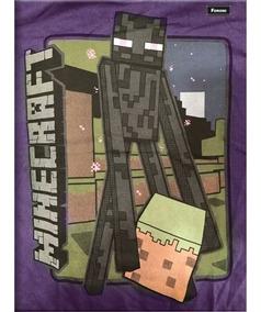 Caderno Brochurao Capa Dura Minecraft 96fls.