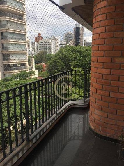 Apartamento Com 4 Dormitórios À Venda, 218 M² Por R$ 2.985.000,00 - Vila Nova Conceição - São Paulo/sp - Ap17785