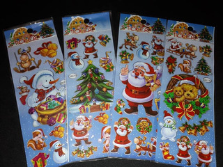 Kit C/60 Stickers Adesivos Natal Christmas Planner Scrapbook
