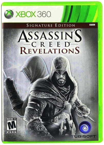 Assassins Creed Revelations Xbox 360 Mídia Física Português