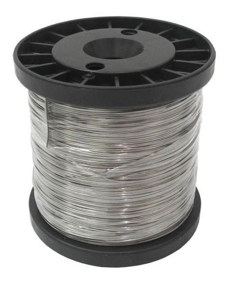 Arame De Aço Inox Para Cerca Elétrica 0,45 Mm Superfine