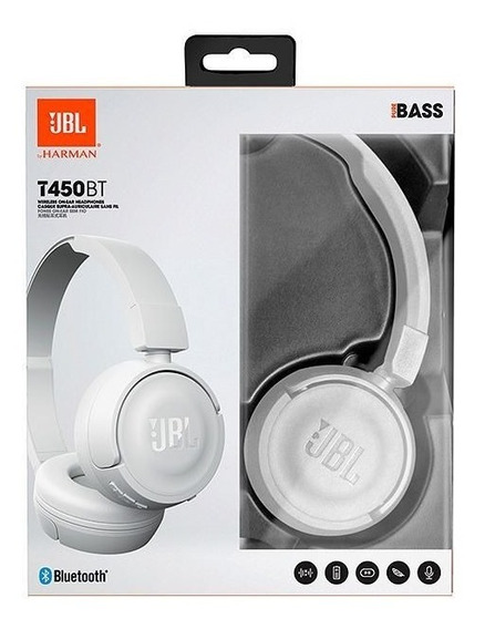 Fone Jbl T450bt Original - Branco - Imperdível!!!