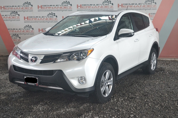 Toyota Rav 4 Limited 2015 Color Blanco