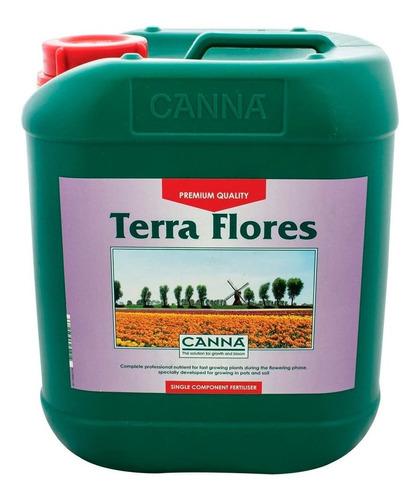 Imagen 1 de 1 de Fertilizante Canna Terra Flores 5l