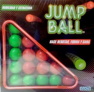 Ditoys Jump Ball Hace Rebotar, Forma Y Gana - Juego De Mesa
