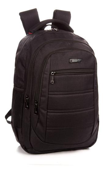 Mochila Hombre Reforzada Porta Notebook Quaglia Qs308