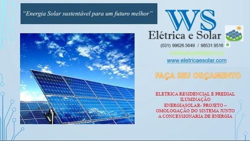 Placa Solar - Instalação De Usina Fotovoltaica