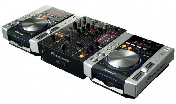 Cdj 200 (par) + Mixer Djm 400 Pioneer